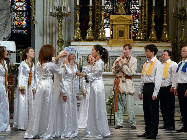 Nouveau Chœur de Chambre de la Société Philharmonique de St Pétersbourg