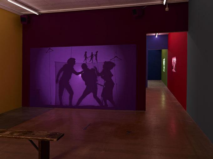 Ulla von Brandenburg, vue d'exposition,Après L'Argent, 2014© Ilmari Kalkkinen - Mamco, Genève
