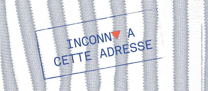 Inconnu à cette adresse, de Kresmann Taylor, à La Maison Des Passages, Lyon, les 20, 21 et 31 décembre 2014
