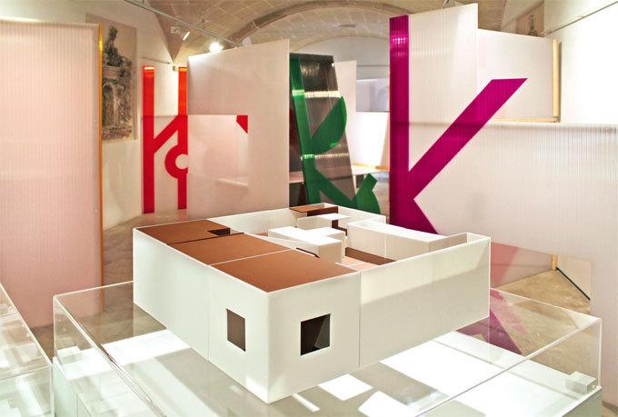 Exposition au Musée de Minorque, Mahon, 2014 © Claude Queyrel et Pascale Stauth