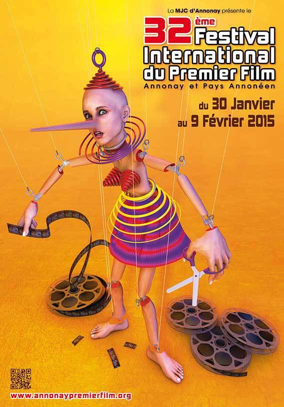 Du 30 janvier au 9 février 2015  32e Festival International du Premier Film d'Annonay et Pays Annonéen
