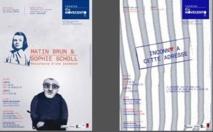 « Matin Brun », « Sophie Scholl, résistance d'une jeunesse » et « Inconnu à cette adresse » pour une soirée Théâtre le 31 décembre 2014 avec la Cie Novecento