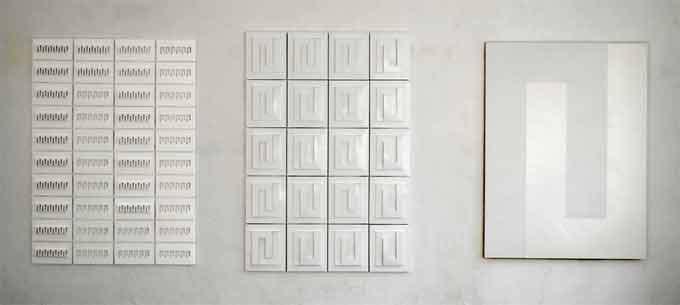 A. Stella. Planogramme 1 + découpe, 2009