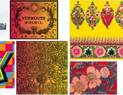 Le jardin des imprimeurs pour le Congrès mondial des roses, du 9 avril au 12 juillet 2015, Musée de l'Imprimerie, Lyon