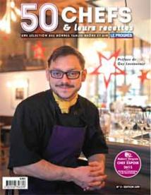 50 Chefs et leurs recettes 2015. Les coups de cœur d'une année