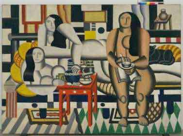 Fernand Léger Three Women (Le Grand Déjeuner), 1921 Huile sur toile 6' 1/4' x 8' 3' (183.5 x 251.5 cm). New York, Museum of Modern Art (MoMA), Mrs. Simon Guggenheim Fund. 189.1942