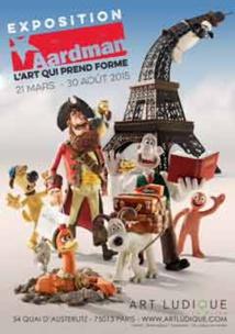 Exposition « Aardman, L'Art qui prend forme », Art Ludique-Le Musée, Paris, du 21 mars au 30 août 2015