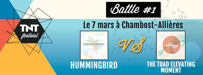 TNT Festival 2015 - Battle #1 le 7 mars 2015 à Chambost-Allières