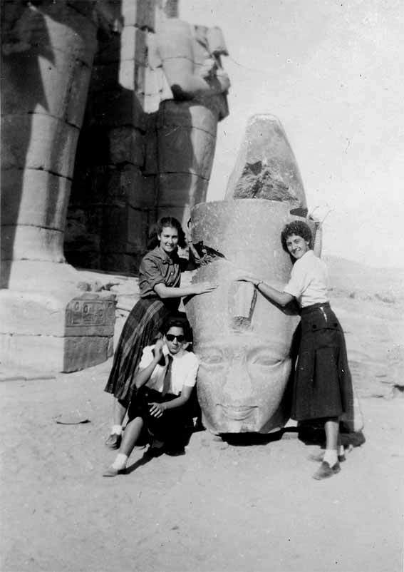 © Moustacchi Dominique Egypte Louxor 1952