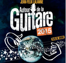 Autour de la guitare 2015. Le spectacle de Jean-Felix Lalanne pour la première fois en tournée française
