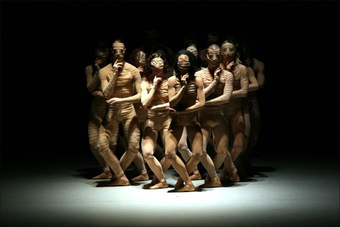 Le Corps du ballet © Jean Barak