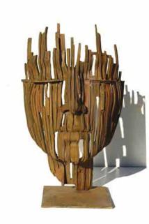 Béatrice Bizot, Ajours, bronze