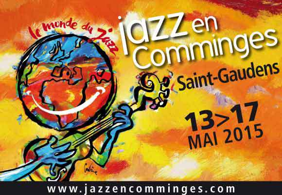 Festival Jazz en Comminges du 13 au 17 mai 2015