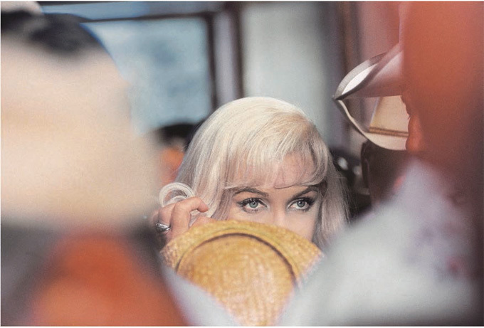 Marilyn Monroe pendant le tournage du film The Misfits, Reno, USA, 1960 © Elliott Erwitt / Magnum Photos