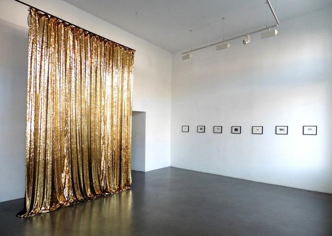 Pauline Boudry / Renate Lorenz, vue de l'expositionOpaque, 2015, La BF15. © La BF15