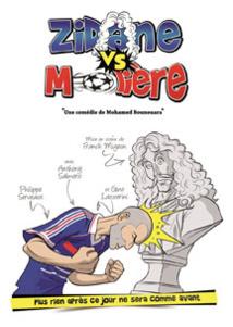 Zidane vs Molière, Avignon Off 2015, à l'Arte bar Théâtre à 16h, du 4 au 26 Juillet 2015