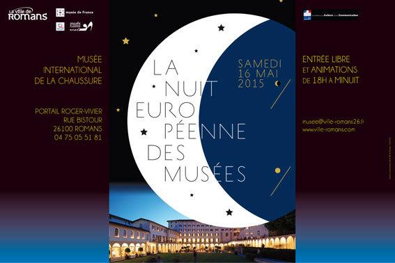 Nuit européenne des musées. Nuit magique… Au musée international de la chaussure de Romans le 16 mai 2015