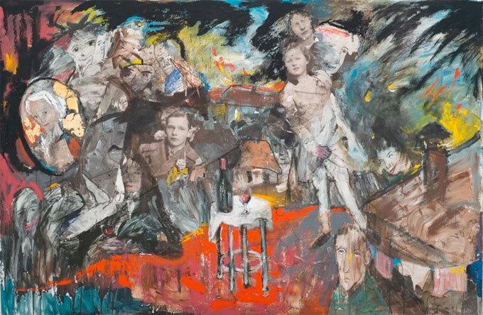 Exposition Zwy Milshtein à la Galerie claire Corcia, Paris, du 4 juin au 17 juillet 2015