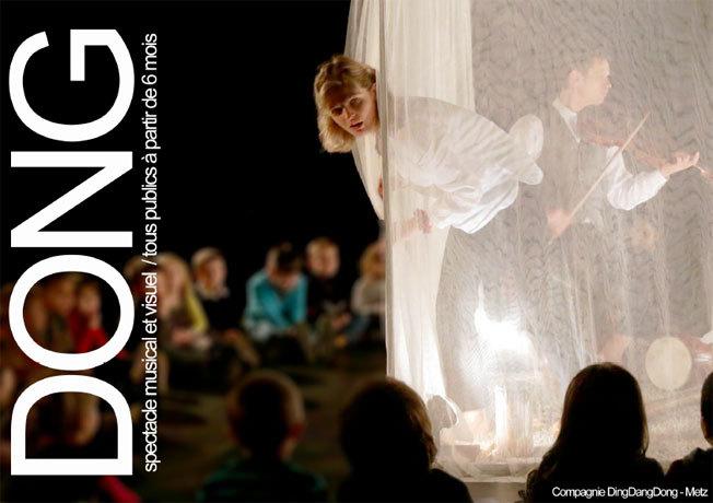 Festival d'Avignon Off 2015 : Dong, spectacle musical et sensoriel, du 4 au 26 juillet, à l'Espace Alya