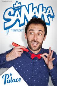 Festival d'Avignon Off 2015 : Sanaka, du 3 au 26 juillet au Palace à 20h35