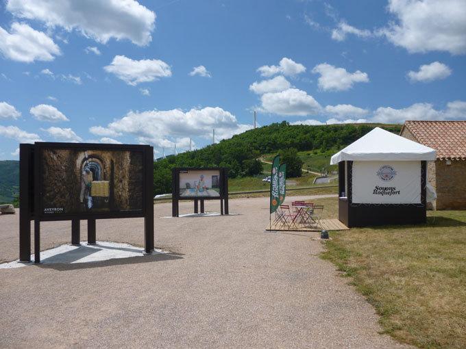 Cet été, partez à la rencontre du roquefort sur l'aire touristique du viaduc de Millau !