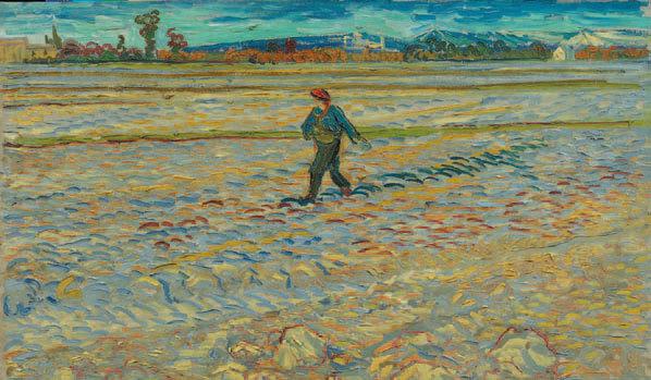 Vincent Van Gogh, Le Semeur, 1888. Hahnloser/Jaeggli Stiftung, Winterthur, © Hahnloser/Jaeggli Stiftung
