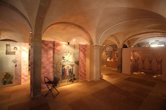 L'exposition occupe les salles voutées des grandes écuries © Pierre Aimar