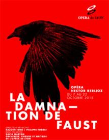 La Damnation de Faust, Hector Berlioz, à l'Opéra de Lyon du 7 au 22 octobre 2015
