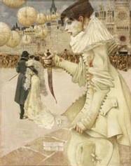 Gustav-Adolf Mossa, Pierrot s'en va
