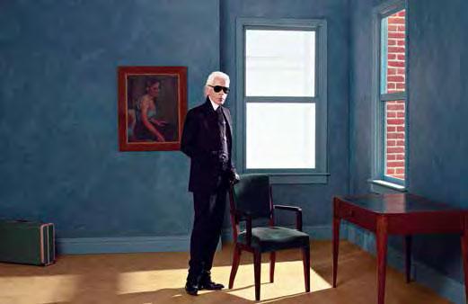 Karl Lagerfeld • Autoportrait, New York • 2011 • Impression jet d'encre couleur sur papier Fabriano 50 x 70 cm • © 2015 Karl Lagerfeld