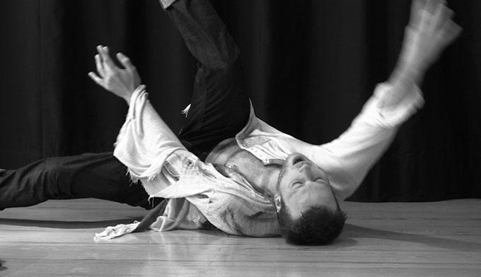 Don Juan ou la fuite dans un battement de paupière, répétition publique le mardi 29 septembre 2015, à 18 h, à Romans/Isère