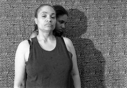 LaToya Ruby Frazier, Momme Portrait Series (Shadow), 2008.