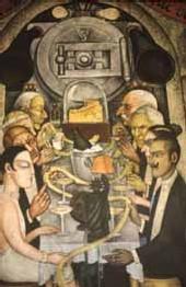 Mexique, muralisme : Le muraliste communiste Diego Rivera récupéré par l'ultra-libéralisme