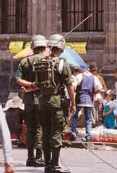 Mexique police