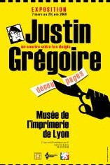 Justin Grégoire Lyon imprimerie