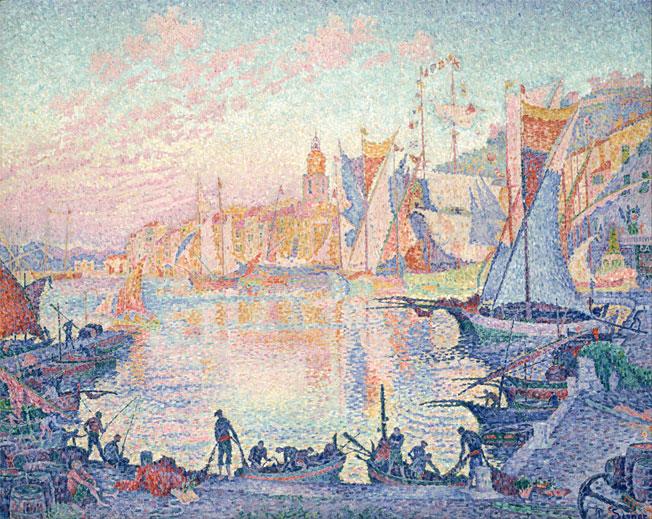 Signac, Le port de Saint-Tropez, 1901, National Museum of Western Art, Tokyo