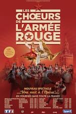 Les Chœurs de l'Armée Rouge, « Une nuit à l'opéra », à Paris et en province du 23 octobre au 8 novembre 2015