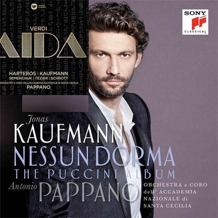 Nouveautés discographiques chez Warner et Sony : Aida de Verdi, et un récital Puccini, magnifiés par Jonas Kaufmann. Par Christian Colombeau