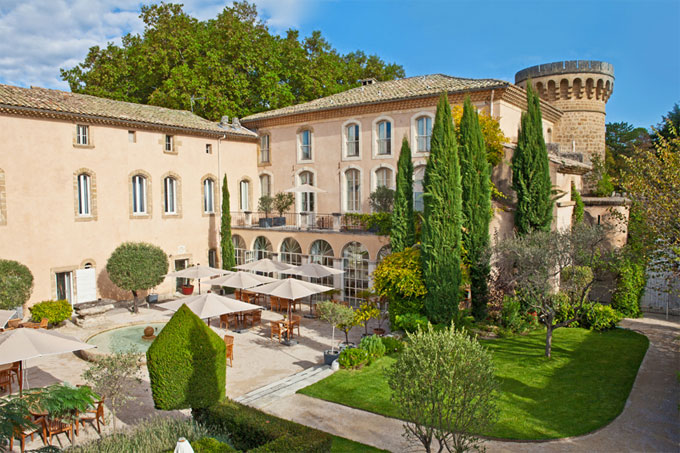 Château de Massillan, à Uchaux, Vaucluse, un lieu privilégié pour privilégiés