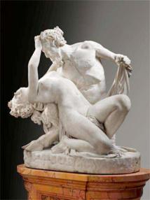 James Pradier, Satyre et Bacchante, 1834, Musée du Louvre