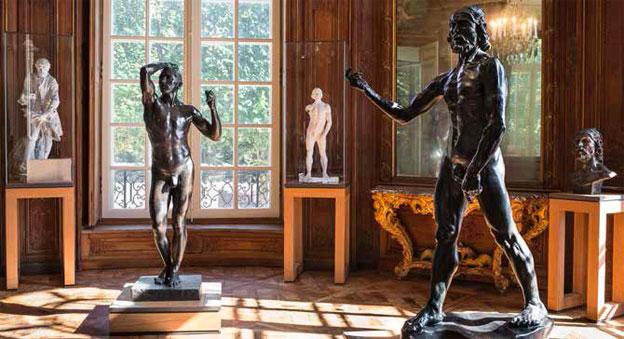 L'Âge d'airain dans son nouvel écrin, salle 3 du nouveau parcours, © agence photographique du musée Rodin, J. Manoukian