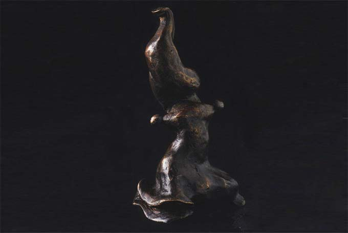 prince Henrik de Danemark « Animal fantastique » Bronze