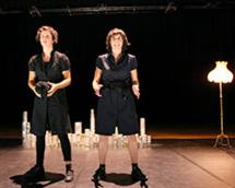 Cécile Delhommeau et Alice Fahrenkrug © P. Planchenaud