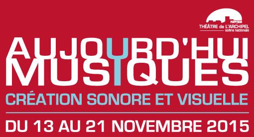 SculptGeKiPe / Ensemble Flashback, spectacle audiovisuel, Théâtre de l'Archipel, Perpignan, le 20 novembre 2015 à  20h30