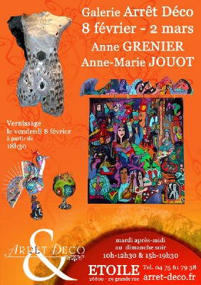 Etoile-sur-Rhône : 'Femmes debout'