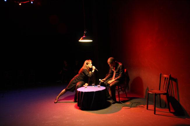Création de Diseuses d'hier ou d'aujourd'hui de et par Nathalie Joly à L'espace Léo Ferré (Marseille) : l'Écume des mots ! Vu le 6 novembre 2015