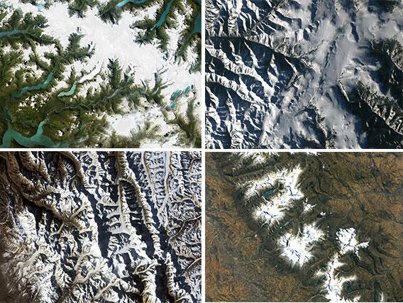 COP21 - Cité internationale universitaire de Paris, Exposition « Les montagnes : des systèmes d'alerte précoce pour le changement climatique » du 2 décembre 2015 au 3 janvier 2016 à la Cité internationale, paris