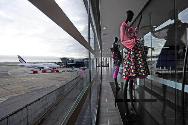 Au Fil du Voyage… Une exposition textile à l'aéroport Lyon-Saint Exupéry ! Décembre 2015