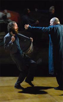 Oblomov, d'Ivan Gontcharov, théâtre de Cavaillon, La Garance, le 26 janvier 2016