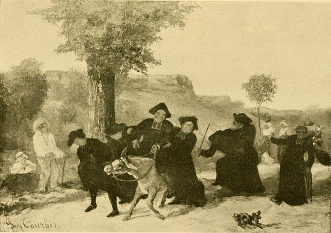 Le retour de la conférence, un tableau disparu, Musée Gustave Courbet, Ornans, du 12 décembre 2015 au 18 avril 2016
